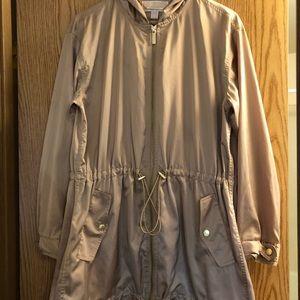 Michael by Michael Kors Gold Satin Jacket